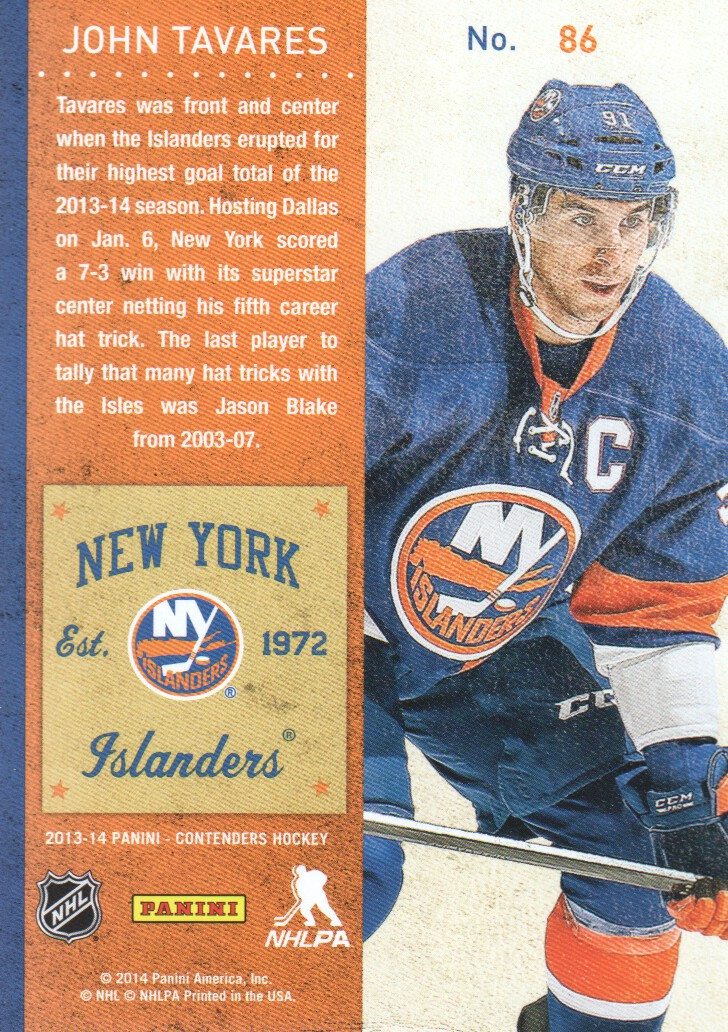 2013-14-Panini-Contenders-Hockey-Cards-Pick-From-List thumbnail 173