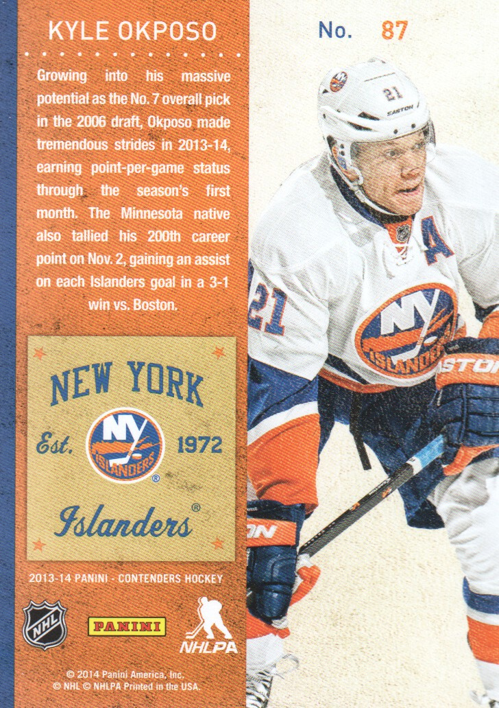 2013-14-Panini-Contenders-Hockey-Cards-Pick-From-List thumbnail 175