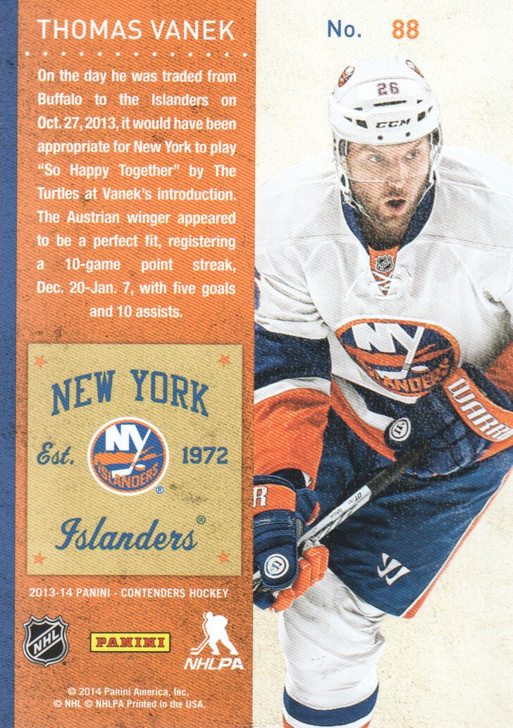 2013-14-Panini-Contenders-Hockey-Cards-Pick-From-List thumbnail 177