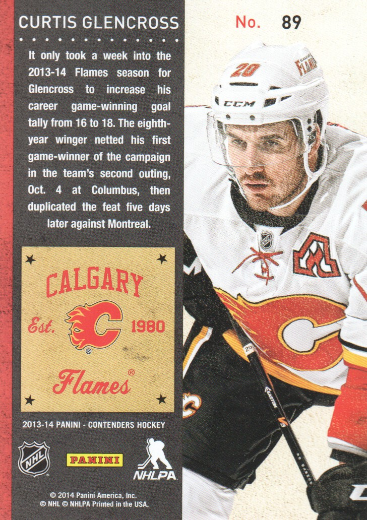 2013-14-Panini-Contenders-Hockey-Cards-Pick-From-List thumbnail 179