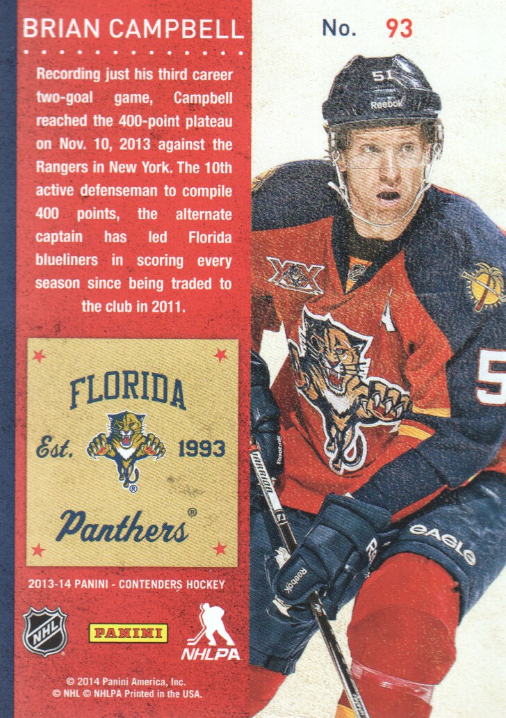 2013-14-Panini-Contenders-Hockey-Cards-Pick-From-List thumbnail 187