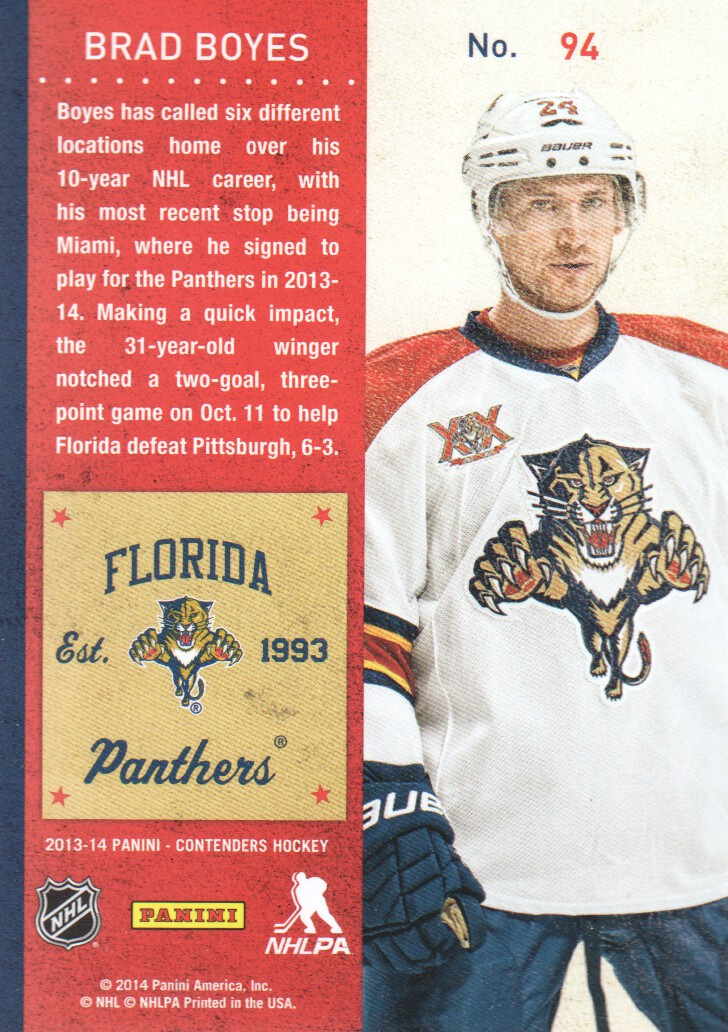 2013-14-Panini-Contenders-Hockey-Cards-Pick-From-List thumbnail 189