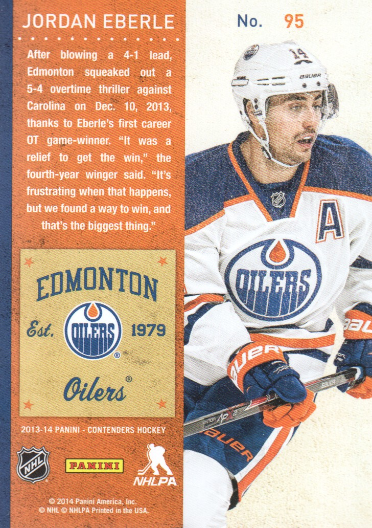 2013-14-Panini-Contenders-Hockey-Cards-Pick-From-List thumbnail 191