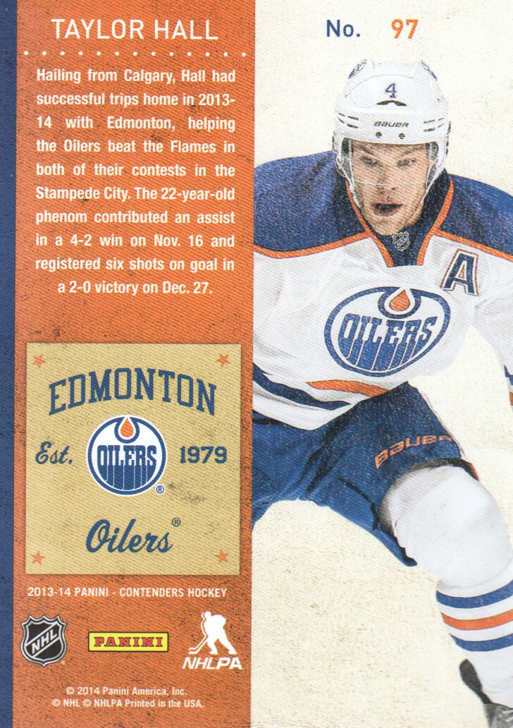 2013-14-Panini-Contenders-Hockey-Cards-Pick-From-List thumbnail 195