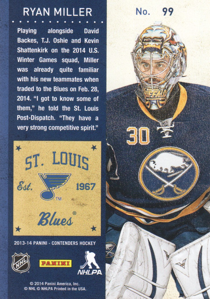2013-14-Panini-Contenders-Hockey-Cards-Pick-From-List thumbnail 199
