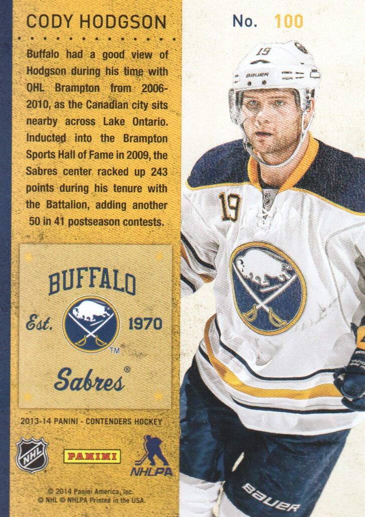 2013-14-Panini-Contenders-Hockey-Cards-Pick-From-List thumbnail 201