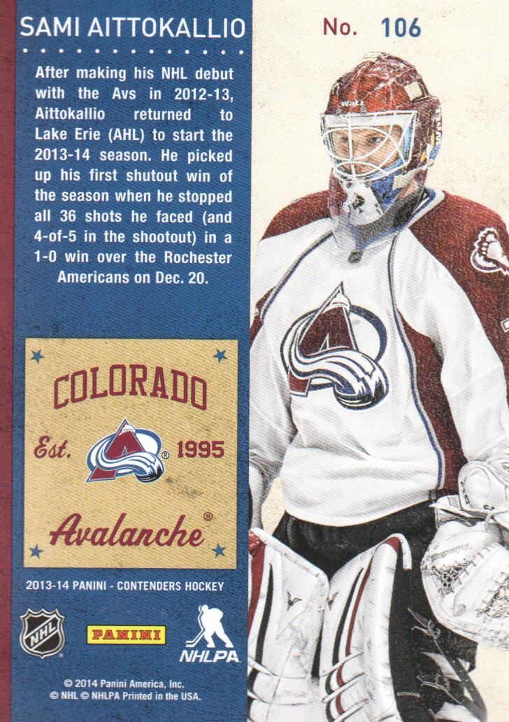 2013-14-Panini-Contenders-Hockey-Cards-Pick-From-List thumbnail 205