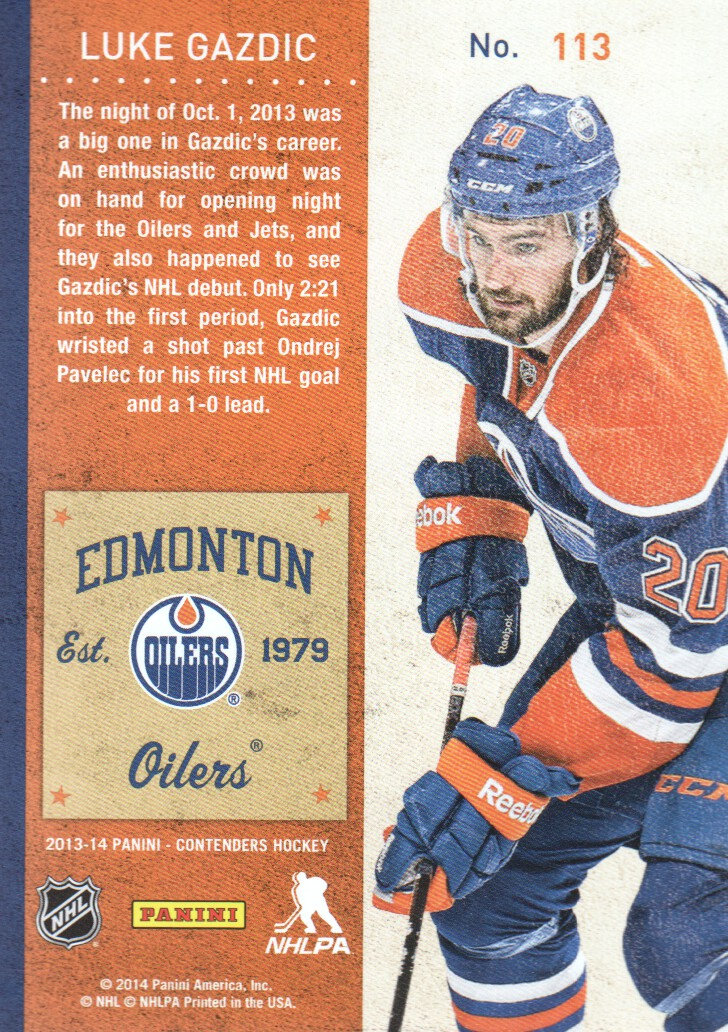 2013-14-Panini-Contenders-Hockey-Cards-Pick-From-List thumbnail 211
