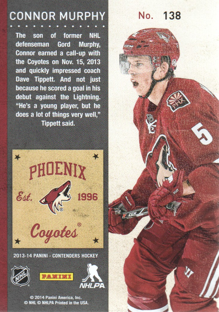 2013-14-Panini-Contenders-Hockey-Cards-Pick-From-List thumbnail 221