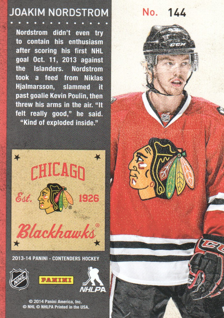 2013-14-Panini-Contenders-Hockey-Cards-Pick-From-List thumbnail 227
