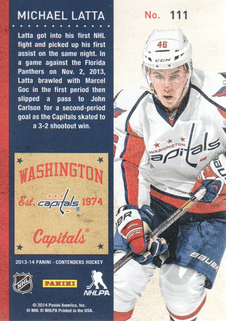 2013-14-Panini-Contenders-Hockey-Cards-Pick-From-List thumbnail 207