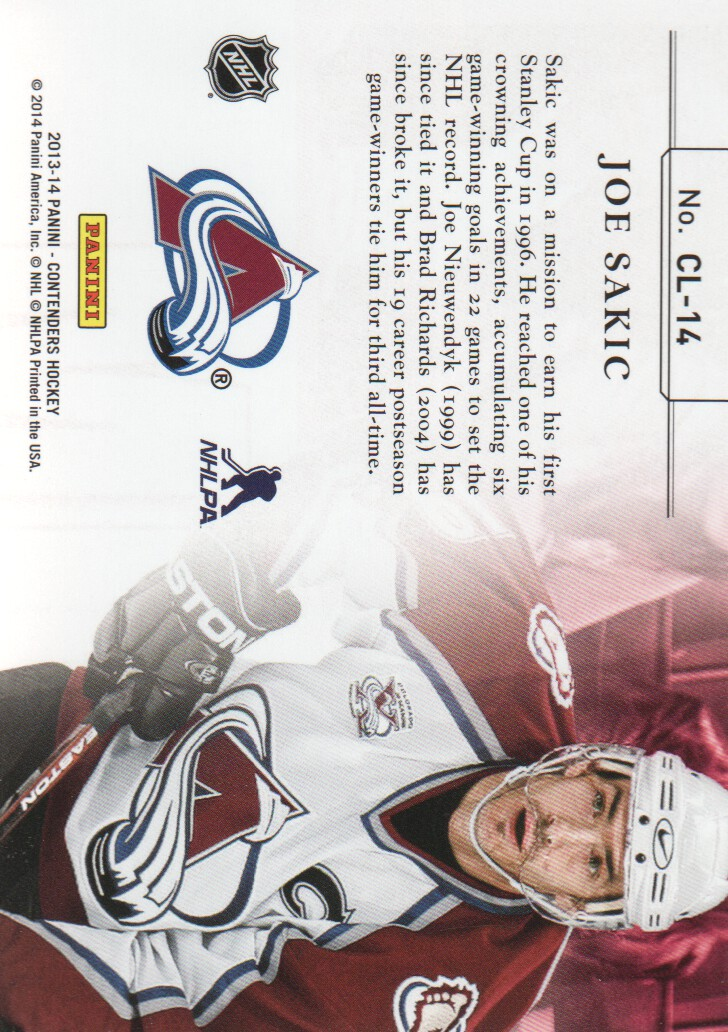 2013-14-Panini-Contenders-Insert-Hockey-Cards-Pick-From-List thumbnail 27