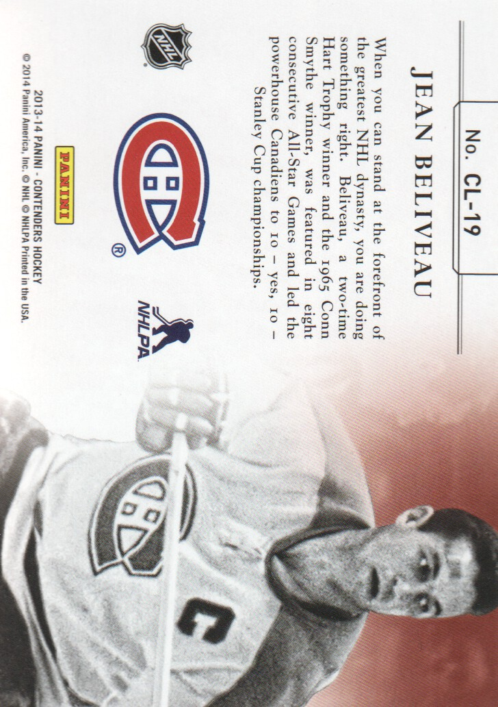 2013-14-Panini-Contenders-Insert-Hockey-Cards-Pick-From-List thumbnail 31