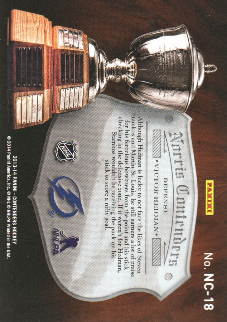 2013-14-Panini-Contenders-Insert-Hockey-Cards-Pick-From-List thumbnail 43
