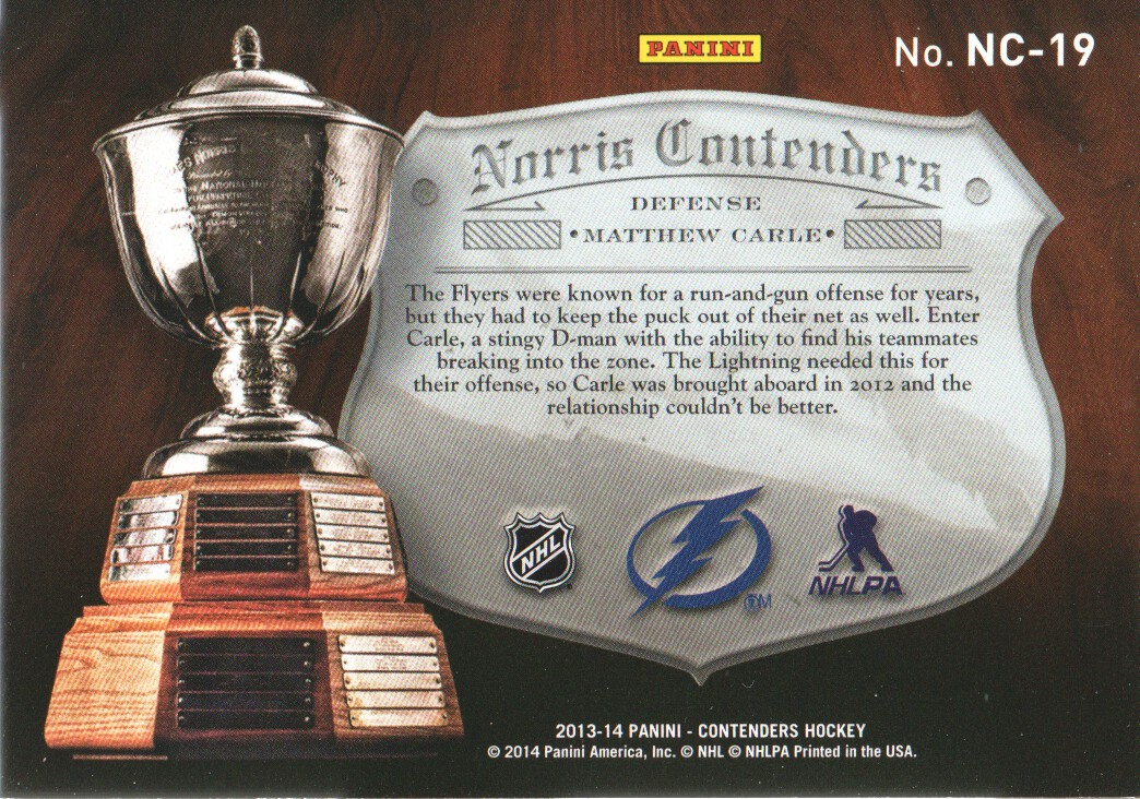 2013-14-Panini-Contenders-Insert-Hockey-Cards-Pick-From-List thumbnail 45