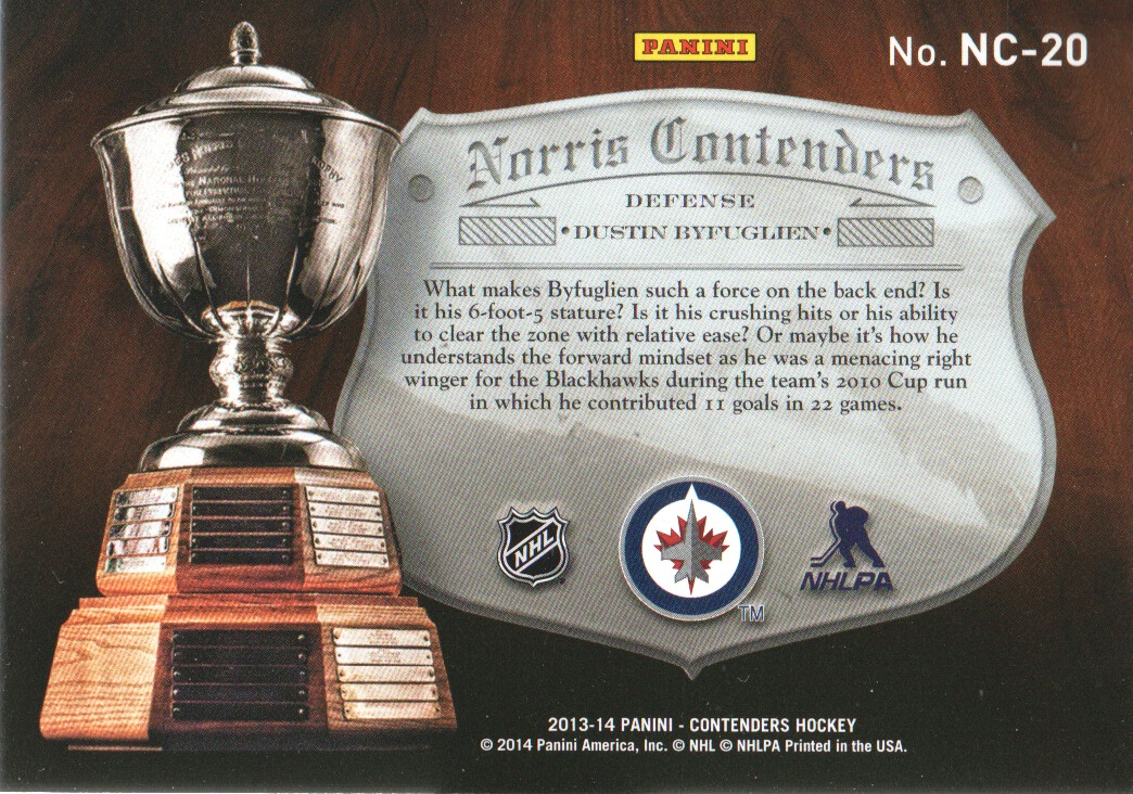 2013-14-Panini-Contenders-Insert-Hockey-Cards-Pick-From-List thumbnail 47