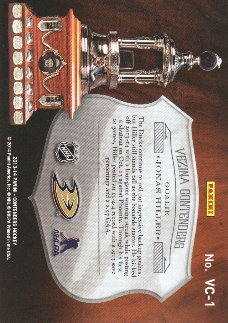 2013-14-Panini-Contenders-Insert-Hockey-Cards-Pick-From-List thumbnail 57