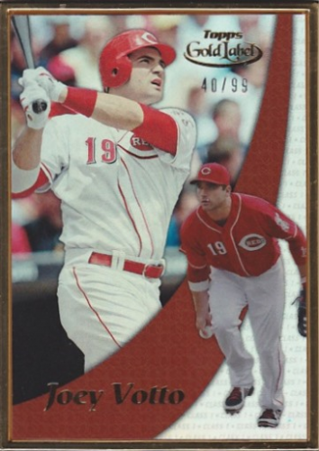 2014 Topps Gold Label #GL20 Joey Votto