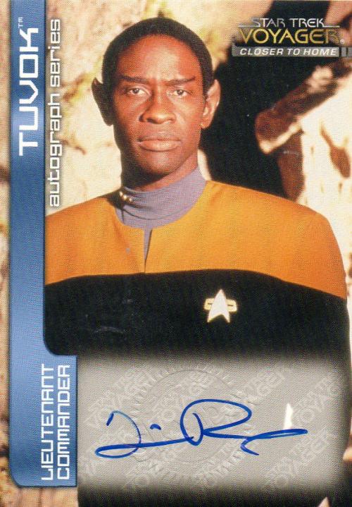 1999 Star Trek Voyager Closer to Home Autographs #A5 Tim Russ