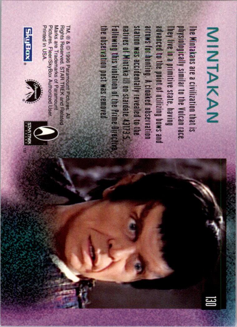 1995-96 30 Years of Star Trek #130 Mintakan - NM-MT