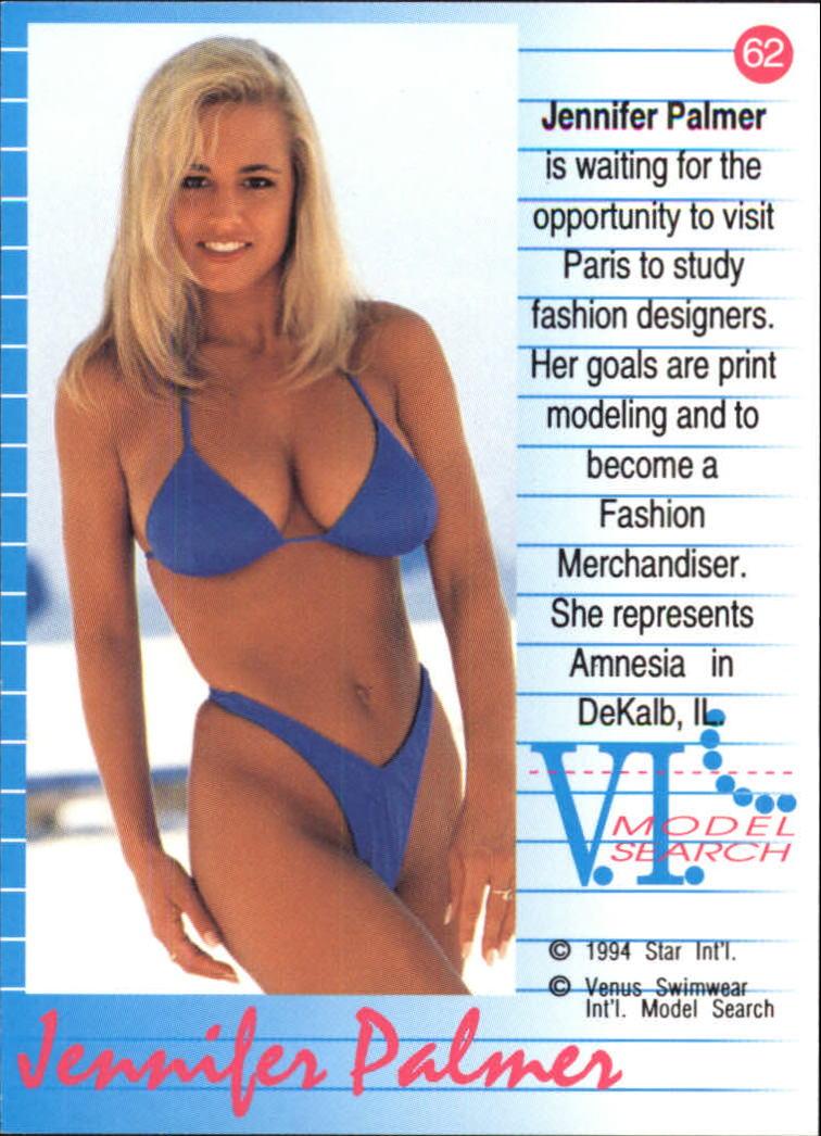 673799274f ... 1994 VI Talent Search Venus Swimwear #62 Jennifer Palmer back image