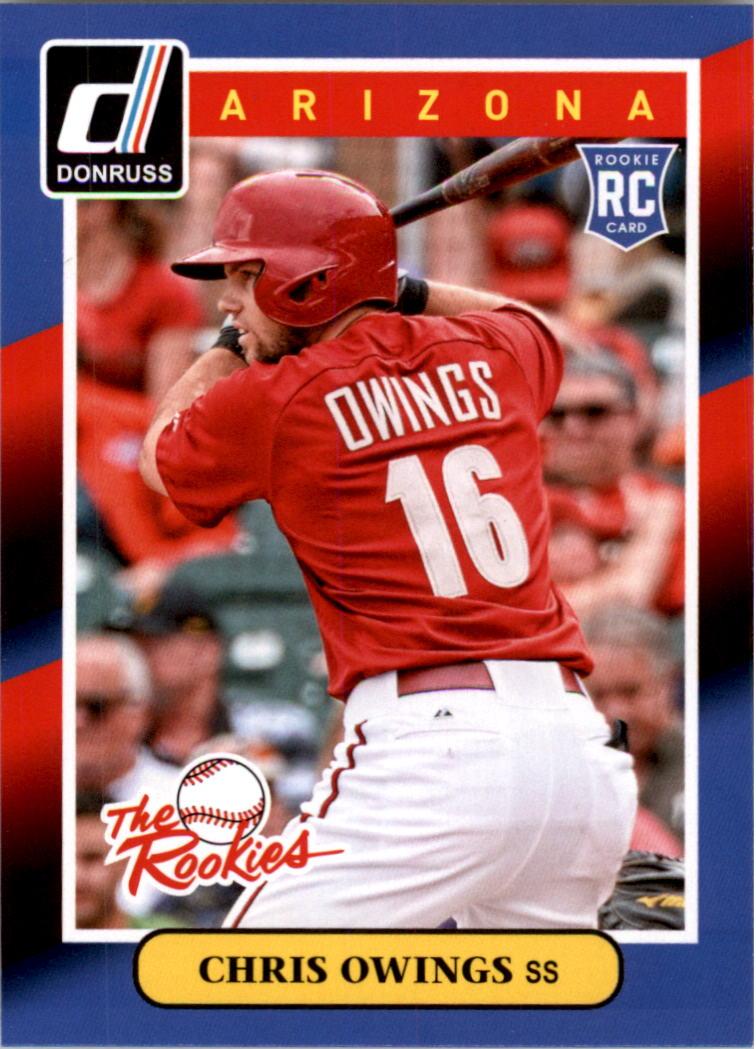 2014 Donruss The Rookies #27 Chris Owings
