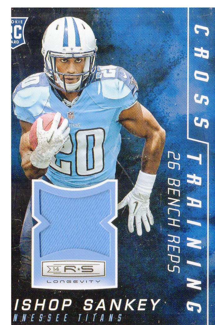 2014 Rookies and Stars Cross Training Materials #CTBS Bishop Sankey