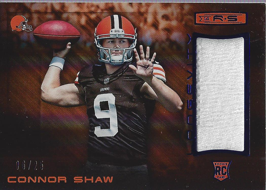 2014 Rookies and Stars Rookie Materials Longevity Sapphire Connor ...