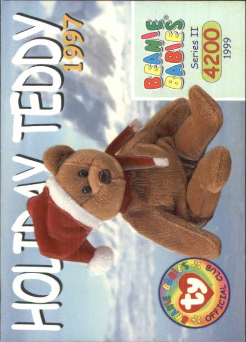 fbf1f9e6330 1999 Beanie Babies Series II  150 Holiday Teddy 1997