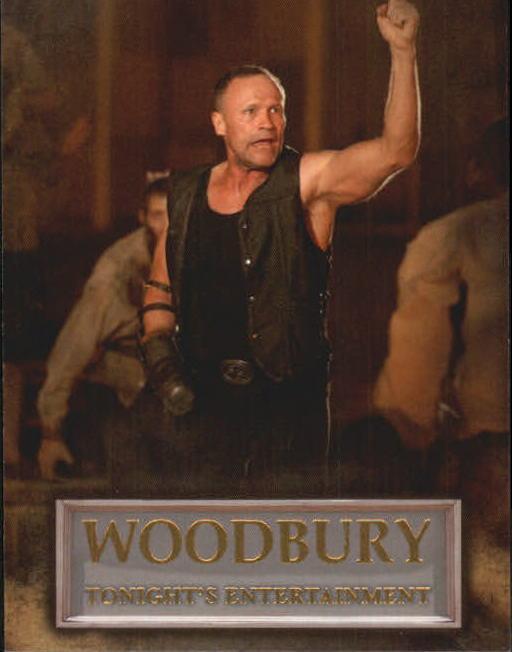 2014 The Walking Dead Season Three P2 Woodbury #WB06 Tonight/'s Entertainment