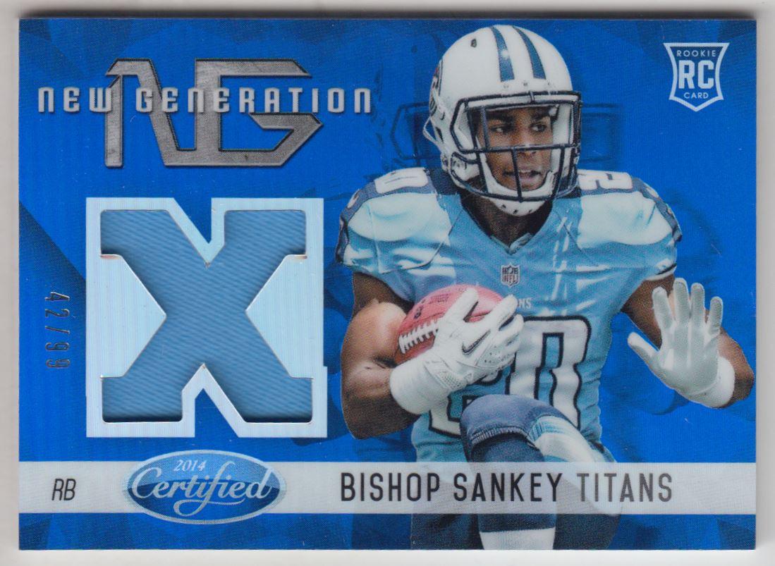 2014 Certified New Generation Materials Mirror Blue #40 Bishop Sankey
