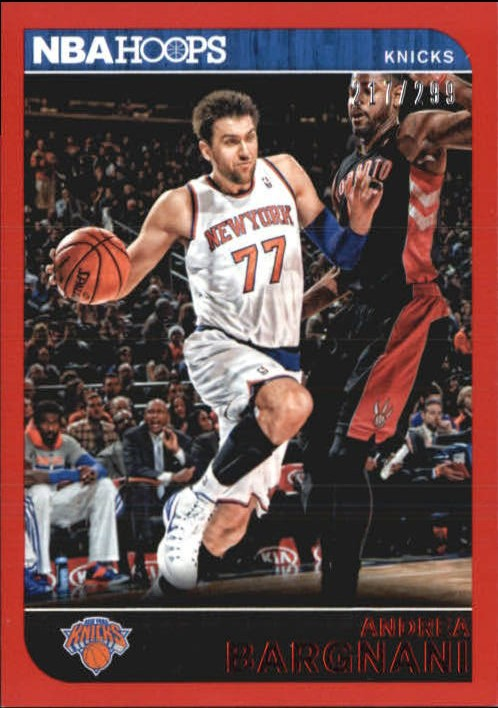 2014-15 Hoops Red #52 Andrea Bargnani