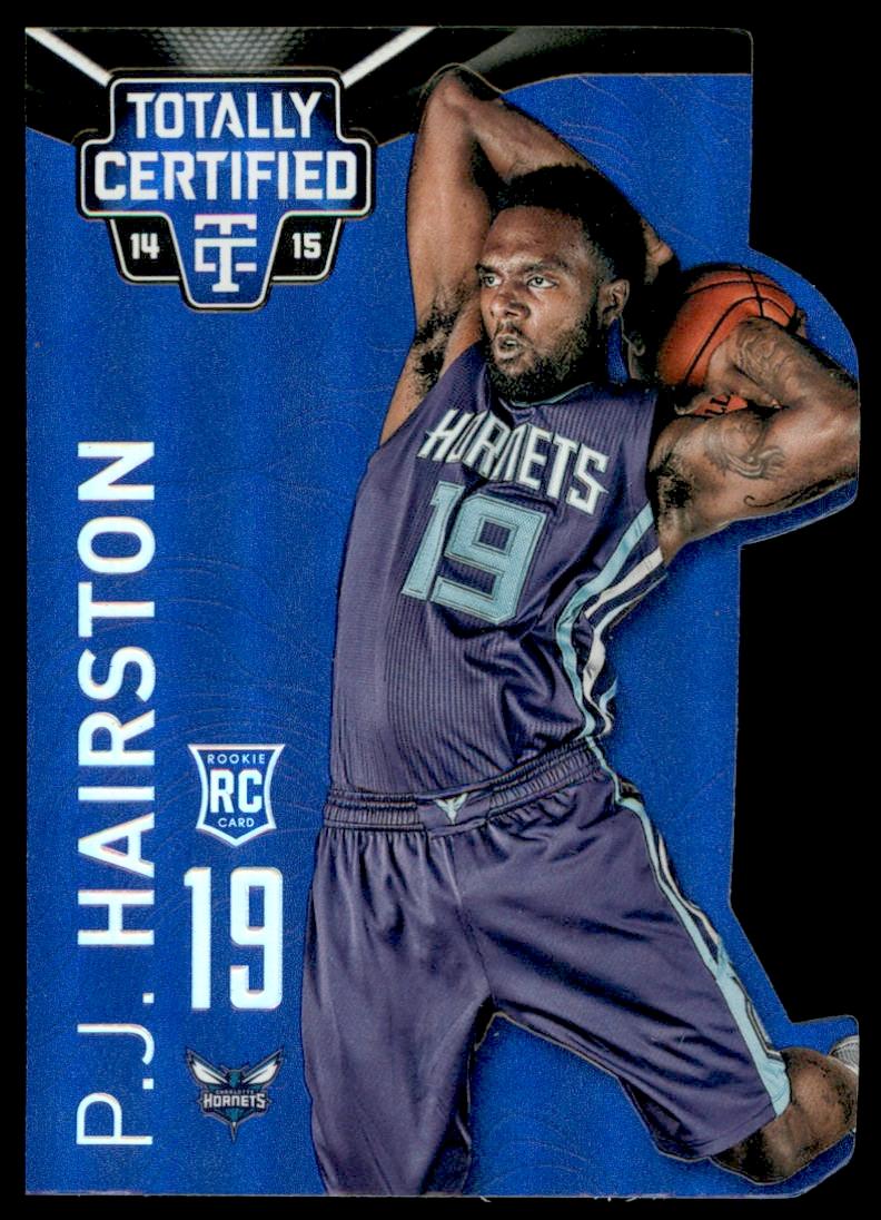 2014-15 Totally Certified Platinum Mirror Blue Die Cuts #162 P.J. Hairston
