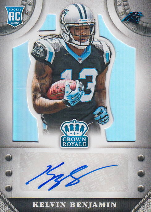 2014 Crown Royale Rookie Signatures #SKB Kelvin Benjamin/99