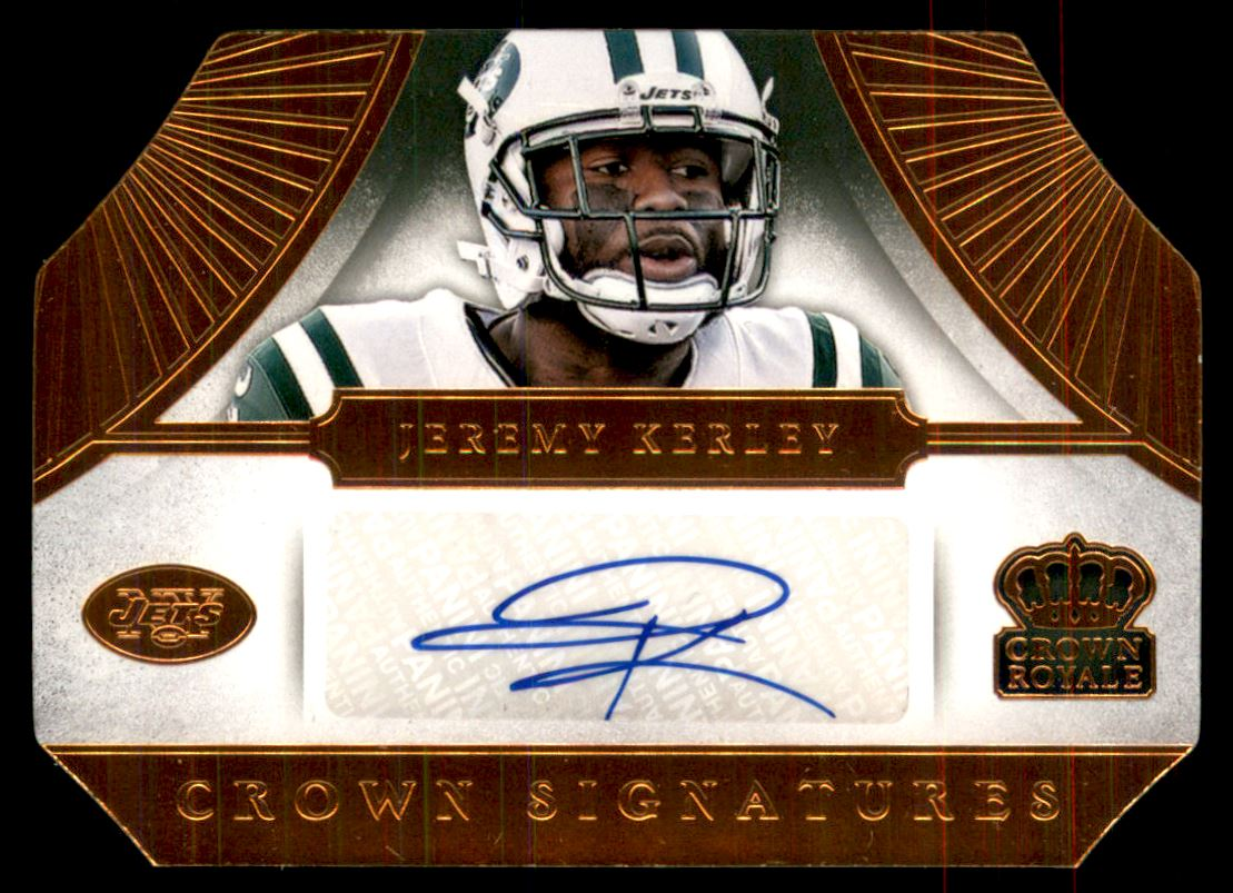 2014 Crown Royale Crown Signatures Retail Bronze #40 Jeremy Kerley/99