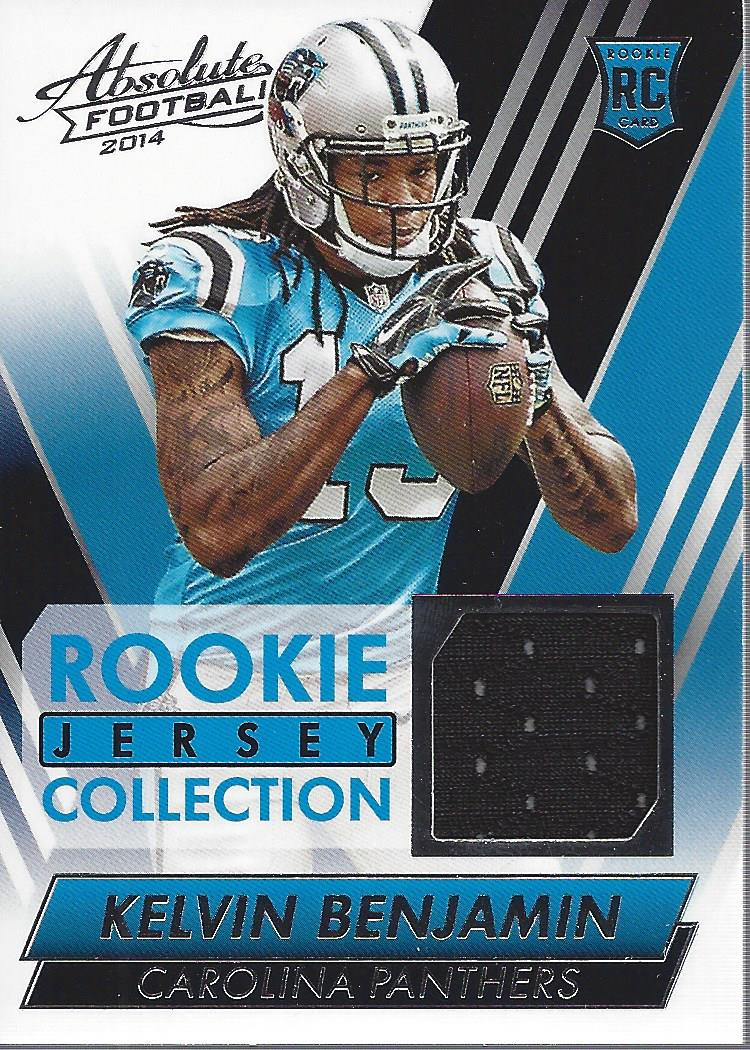 Details about 2014 Absolute Rookie Jersey Collection #RJKB Kelvin Benjamin Jersey - NM-MT