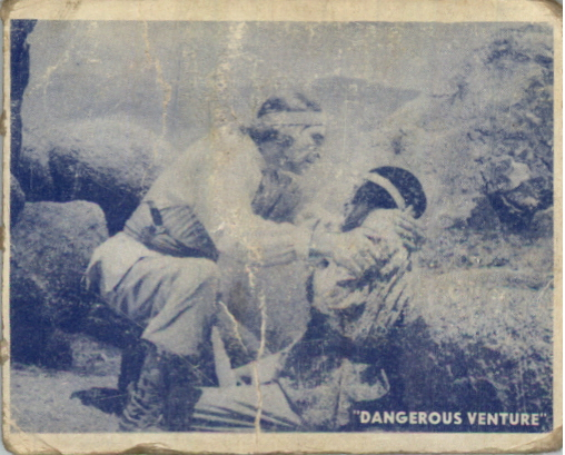 1950 Hopalong Cassidy Topps #15 The Wounded Indian