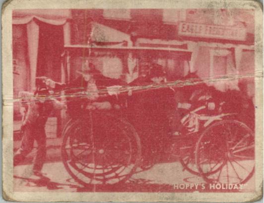 1950 Hopalong Cassidy Topps #66 The Gateaway
