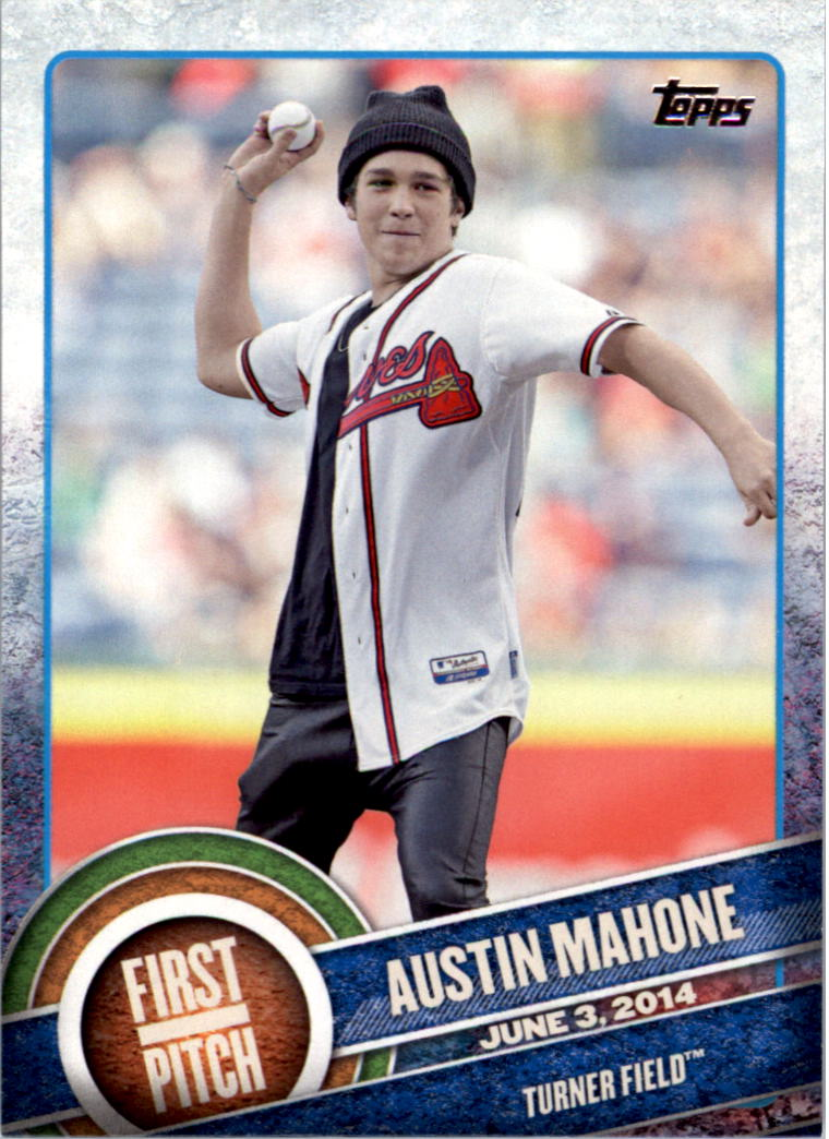 2015 Topps First Pitch #FP07 Austin Mahone