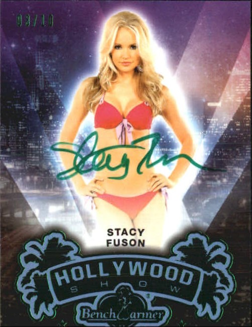 2014 Bench Warmer Hollywood Autographs Green Foil #9 Stacy Fuson