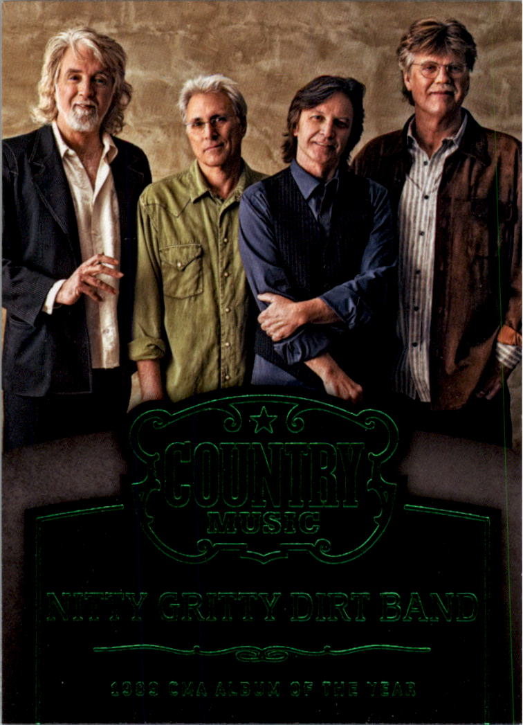 2015 Country Music Award Winners Green #14 Nitty Gritty Dirt Band