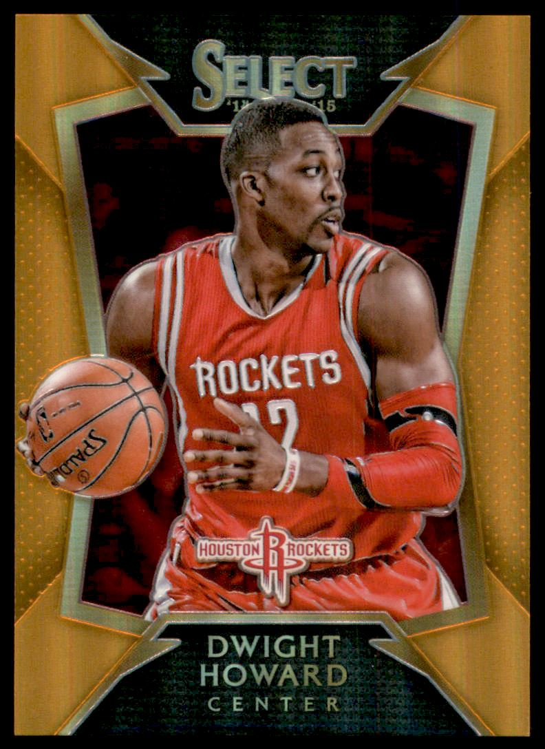 2014-15 Select Concourse Prizms Orange #34 Dwight Howard