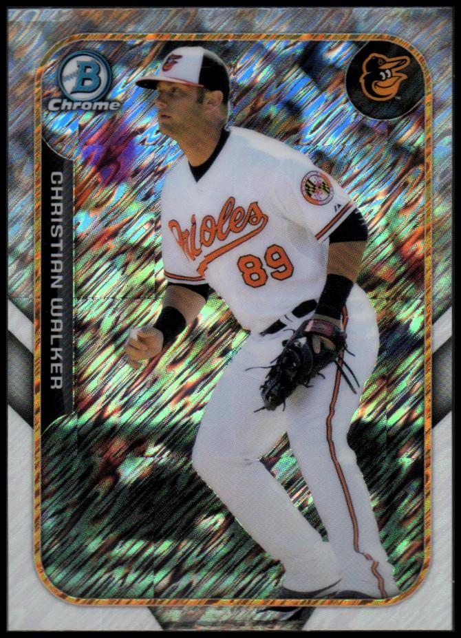 Verzamelkaarten: sport Honkbal Dariel Alvarez Baltimore Orioles 2015 Bowman Chrome Farm's Finest Mini