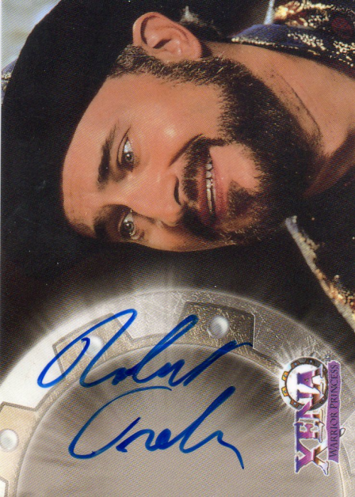 1998 Xena Warrior Princess Series Two Autographs #A9 Robert Trebor