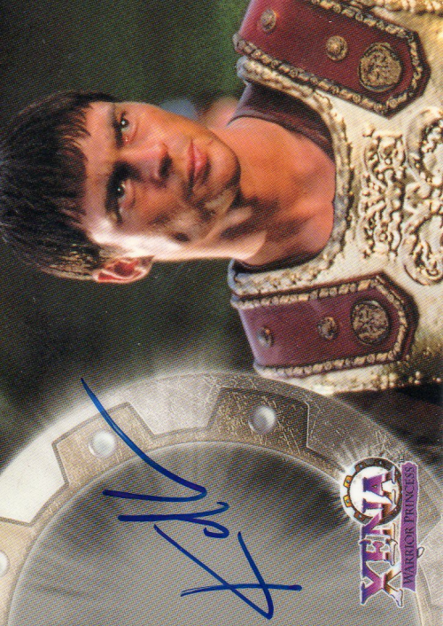 1998 Xena Warrior Princess Series Two Autographs #A11 Karl Urban