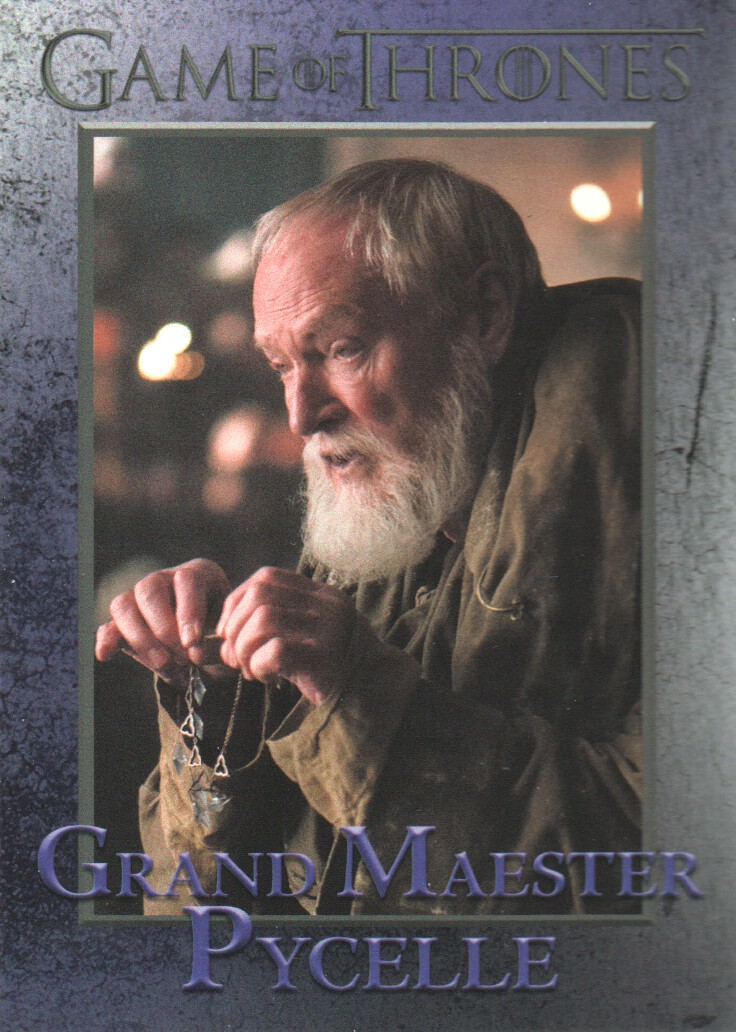 2015 Game of Thrones Season 4 Trading Card #49 Grand Maester Pycelle