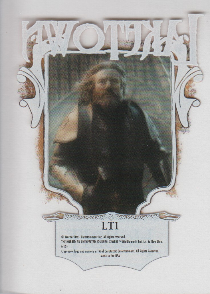 2015-The-Hobbit-Desolation-of-Smaug-Lake-town-Trading-Cards-Pick-From-List miniature 3