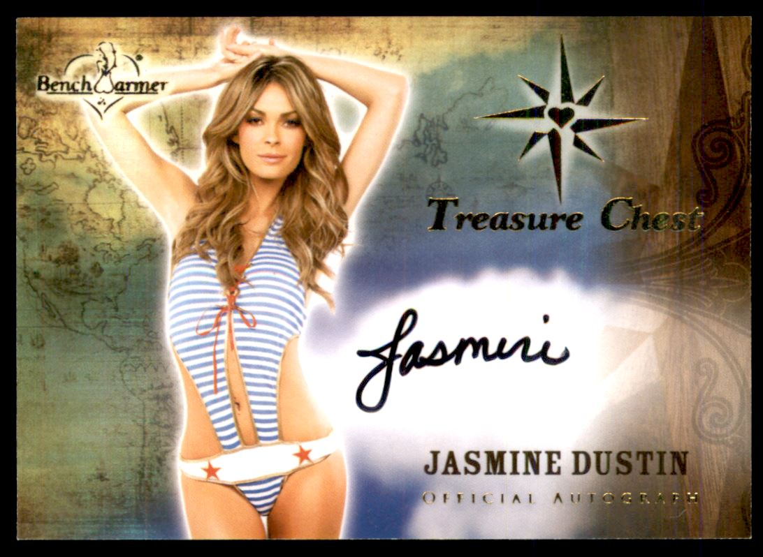 2015 Bench Warmer Treasure Chest Autographs #36 Jasmine Dustin