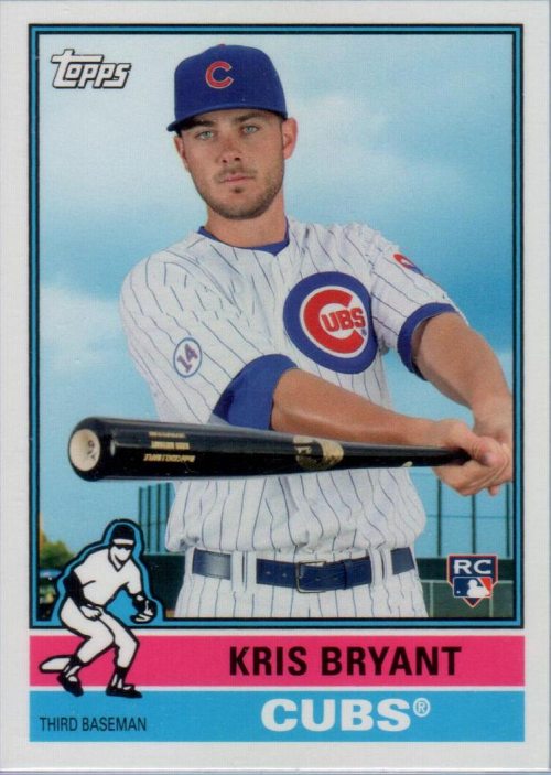 2015 Topps Archives #314 Kris Bryant SP RC