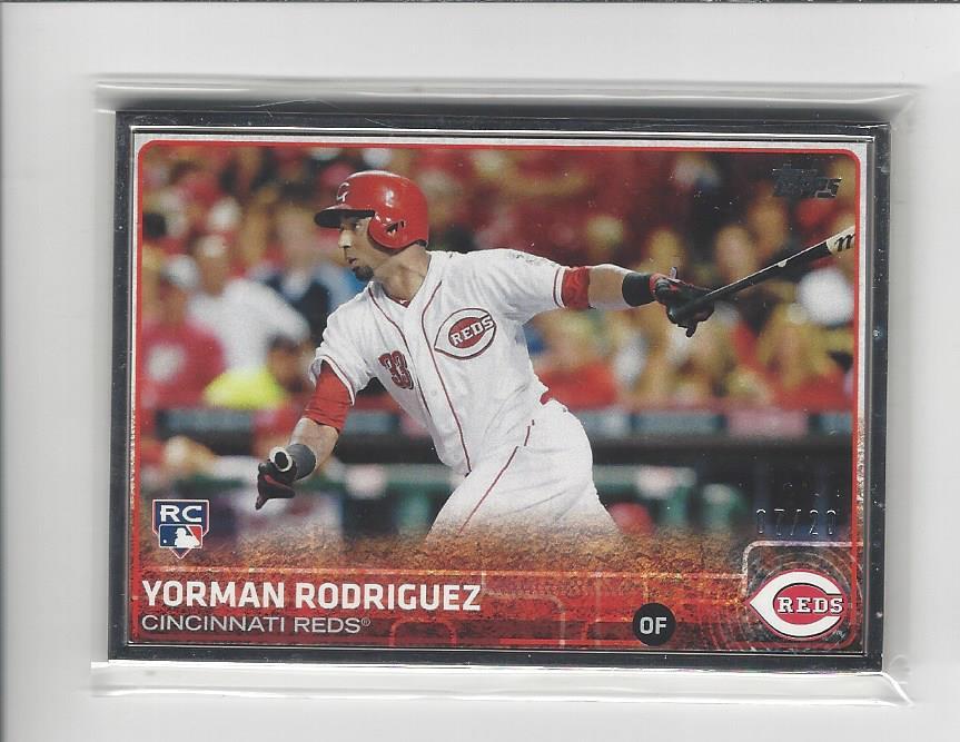 2015 Topps Framed #641 Yorman Rodriguez
